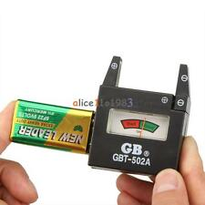 GB GBT-502A 9V 1.5V D C N AAA AA Cells Battery Tester Voltage Checker Detector