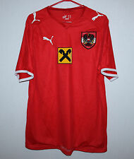 Austria National Team home shirt 08/09 #12 Puma
