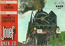 Catalogue 1971 JOUEF train HO circuit 24 maquette katalog catalogo vintage toy