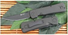 Taschenmesser A/O CRKT Folding Hissatsu AUS-8 Stahl Griff  black Zytel CR2903