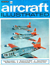 AIRCRAFT ILLUSTRATED AUG 71: PARIS SHOW/ SW ELECTRICITY CHOPPERS/50 RAAF YEARS