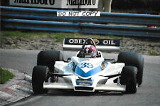 9x6 Photograph  Ian Ashley , F1 Hesketh 308E , Dutch GP Zandvoort 1977