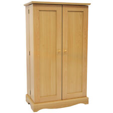 Richmond Media CD DVD Storage Cabinet Beech  MS0495