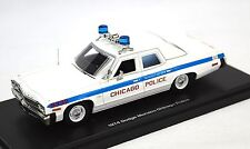 DODGE MONACO 1974 CHICAGO POLICE AUTOWORLD 1142 1:43 RESIN MODEL
