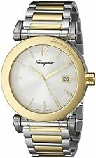 Salvatore Ferragamo Men's FP1850014 Salvatore Two-Tone Stainless Steel Watch
