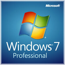 Win­dows 7 Professional Vollversion ✔AKTION 32 & 64 Bit Product-Key-OEM -