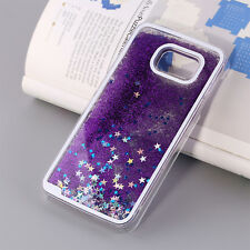 Luxury Glitter Star Liquid Back Phone Case Cover for Samsung galaxy Note5/S7edge
