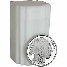 SPECIAL!! 2017 American Buffalo 1oz .999 Silver Medallion by SilverTowne (20pc)
