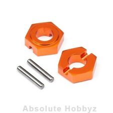 Hot Bodies Aluminum Hes hub 9.8mm Front (2pcs) - HBS112745