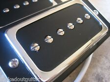 TOG FAMOUS P-BUCKERS  P-90 IN A HUMBUCKER BODY CHROME AND BLACK MI KOREA