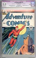 Adventure Comics # 61  1st appearance Starman !  CGC 5.5 rare Golden Age book !