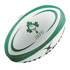 Official Irish Rugby (IRFU) Replica High-grade Ball by Gilbert-Size5. Go Ireland