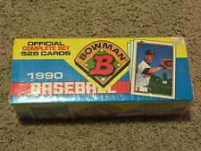 1990 Bowman Baseball Factory Sealed Complete Set - Frank Thomas, Sammy Sosa RC