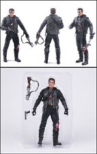 Terminator 2 Judgment Day T-800 Steel Mill PVC Model Action Figures Boy Toy Gift
