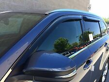 Tape-on Vent Visors 4 piece for a Toyota Highlander 2014 - 2016