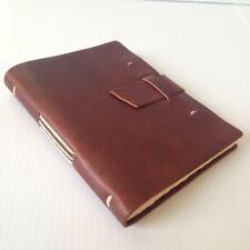 New RUSTICO Parley Leather Journals Diary Notebook Christmas Gifts Saddle Buckle