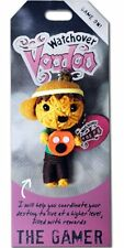 """Watchover VOODOO DOLL Keychain, THE GAMER, Game On!, 3"""" Tall"""