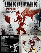 "LINKIN PARK *VG+ ""PAPER CUT+2 LIVE+VIDEO OF SAME"" 2000 EURO WEA IMPORT CD SINGLE"