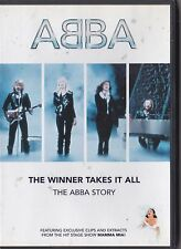 THE ABBA STORY THE WINNER TAKES IT ALL DVD MUSIC