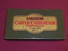 Vintage Carter Carburetor Specialty Tools w/ Original Box