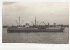 Merchant Ship Finn Plain Back Shipping Photo Card 673a