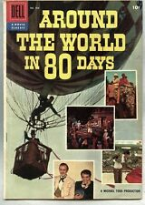 Four Color Comics #784-1957 vg Around The World In 80 Days Film adaption Verne