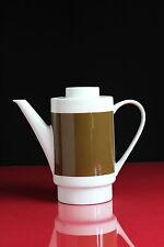 Melitta Kaffeekanne Braun Weiß Vintage Kanne