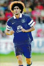 Football Photo MAROUANE FELLAINI Everton 2013-14