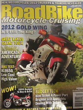 Road Bike Magazine November / December 2011 2012 Gold Wing Great Lakes Island To