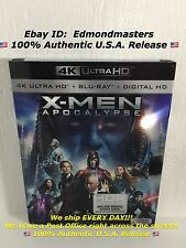 X-Men: Apocalypse 4K Ultra HD Blu-ray Brand New Sealed Ships out Fast!!!