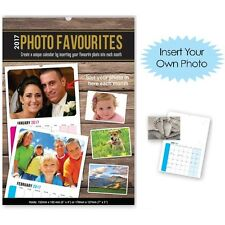 PERSONALISE Your Calendar 2017 with Your Own Photos Each Month Calender New Year