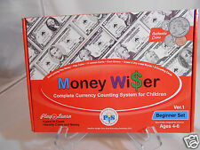 Money Wiser Currency Counting System Girls & Boys Play to Learn  Age 4 to 6
