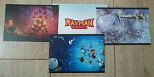 Rayman Origins : Lot de 3 Lithographies 12,5*18cm [Collector - Ps3/Xbox360]