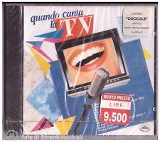 QUANDO CANTA LA TV **SIGILLATO** 1993  Paola Cortellesi  Gigi Proietti Montesano