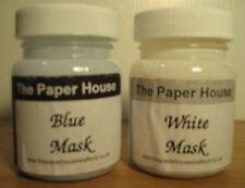 2 Bottles Watercolour Masking Fluid Blue & White Mask