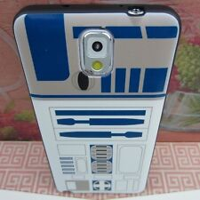 R2D2 Star Wars Robot #S Rubber+Leather Cover Case for Samsung Galaxy Note 3 III