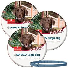 3-PACK Seresto Flea & Tick Collar for Large Dogs