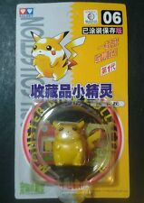 VINTAGE POKEMON # 06 PIKACHU AULDEY TOMY 1998 RARO Pocket Monsters * geekachu *