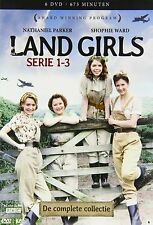 LAND GIRLS - THE COMPLETE SERIES  1 2 & 3 Box Set   -  DVD - PAL Region 2 - New