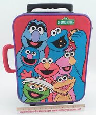 Jim Henson Muppets Sesame Street Child's Rolling Wheeled Travel Suitcase Luggage