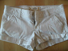 HOLLISTER coole Jeans Hotpants weiß Gr. 23 TOP SH316