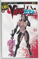 Vampblade #9 Risque Artist Variant Limited to 2000 CVR F Action Lab Danger Zone