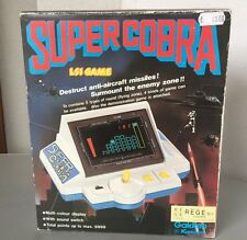 1982# RARE CONSOLE HANDHELD LSI TABLE TOP CONSOLE GAKKEN KONAMI SUPER COBRA#NIB