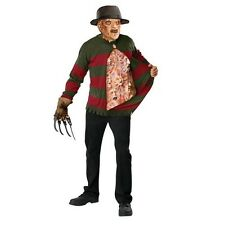 Ru56066 Freddy Chest Of Souls Red And Green Striped Sweater For Christmas