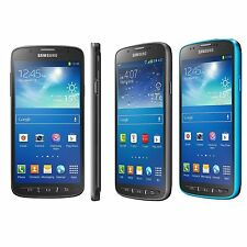 "UNLOCKED AT&T BLUE Samsung Galaxy S4 S IV i537 Active 16GB 4G LTE 5"" 8MP Android"