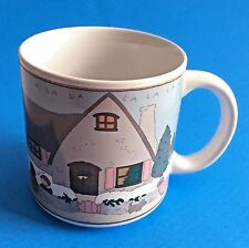 Vintage Michel & Co Charpente Mug Coffee Cup 'Tis The Season To Be Merry'