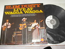 """Slim Dusty Live At Wagga Wagga Axis Lable LP  """"Must Have Album"""""""