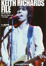 KEITH RICHARDS FILE Book 1988 Japan THE ROLLING STONES