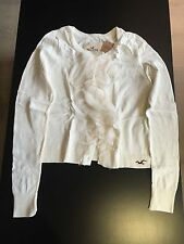 HOLLISTER Sweater White Woman Medium