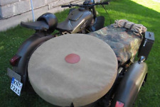 New Handmade Canvas Sidecar Spare Wheel Cover Ural M72 K750 Dnepr MT E